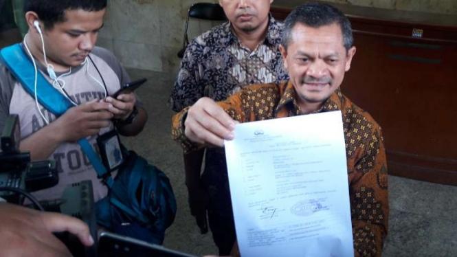 Ketua Departemen Hukum dan HAM DPP PKS, Zainudin Paru