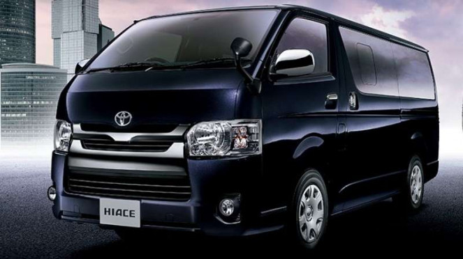 Toyota Hiace 2017.