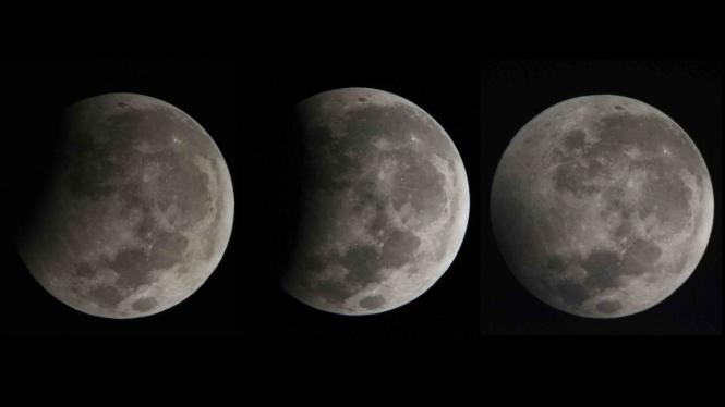 Melihat Gerhana Bulan di langit Indonesia