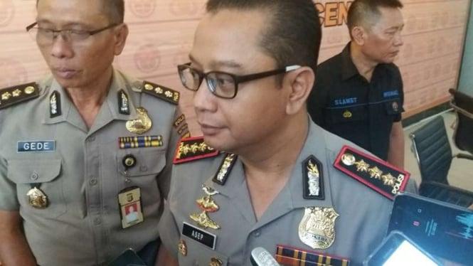 Kepala Bagian Penerangan Umum Divisi Humas Polri, Kombes Pol Asep Adi Saputra.