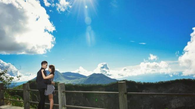 Gunung Mahawu, Tomohon.