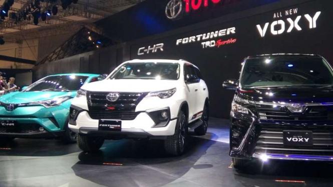 Mobil-mobil baru Toyota di GIIAS 2017.