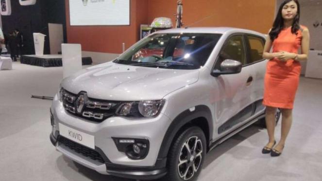 Renault Kwid edisi terbatas di GIIAS 2017.