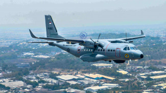 Pesawat CN235.