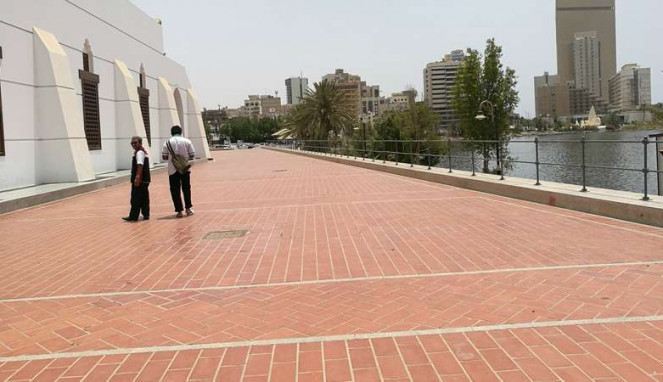 Masjid Qisas atau masjid untuk hukuman pancung di Arab Saudi