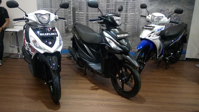 Motor baru Suzuki.
