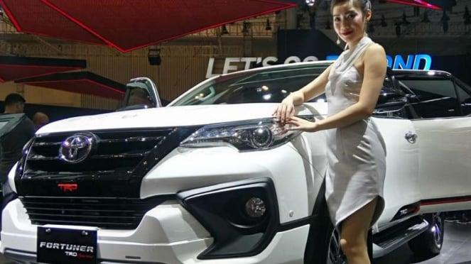 Toyota Fortuner TRD Sportivo terbaru