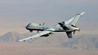Drone MQ-9 Reaper Amerika Serikat.