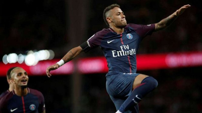 Penyerang Paris Saint-Germain, Neymar Jr.