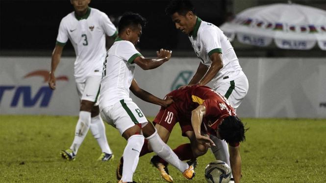 Laga Timnas Indonesia U-23.