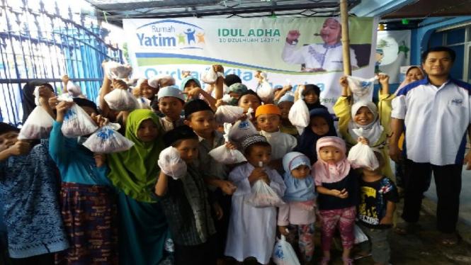 Idul Adha di Rumah Yatim.