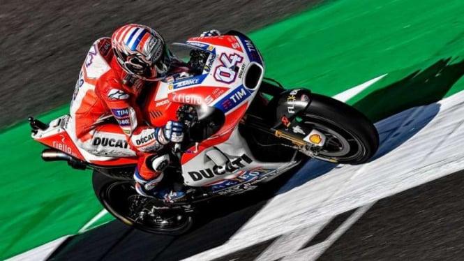 Pembalap Tim Ducati, Andrea Dovizioso
