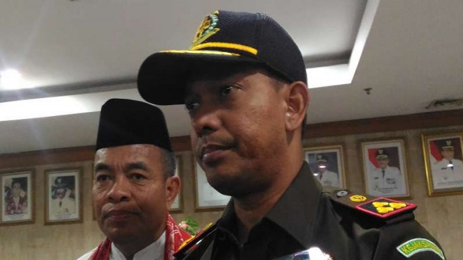 Kepala Kejaksaan Negeri Jakarta Timur, Teuku Rahman.