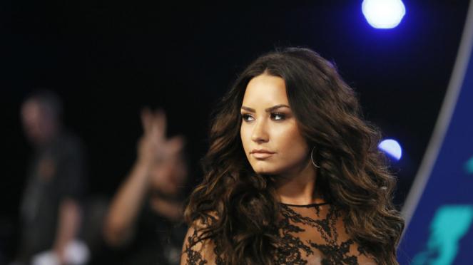 Demi Lovato di 2017 MTV Video Music Awards.