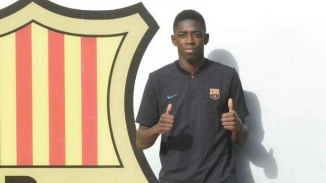 Barcelona Beri Kesempatan Kedua Untuk Ousmane Dembele