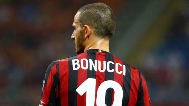 Kapten AC Milan, Leonardo Bonucci.