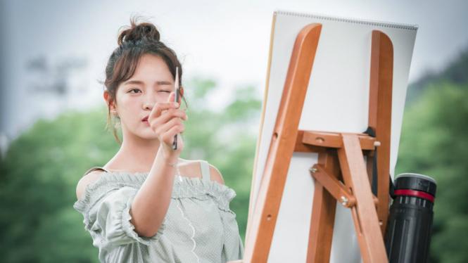 Kim Sejeong dalam drama School 2017