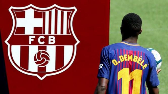 Bintang baru Barcelona, Ousmane Dembele