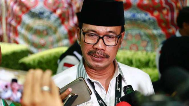 Duta Besar Indonesia untuk Arab Saudi, Agus Maftuh Abegebriel.