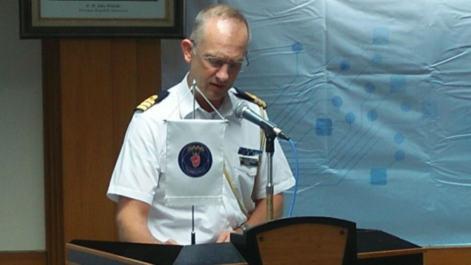 Atase Pertahanan Kedubes Swedia untuk RI, Singapura, Brunei, Kenneth Raun