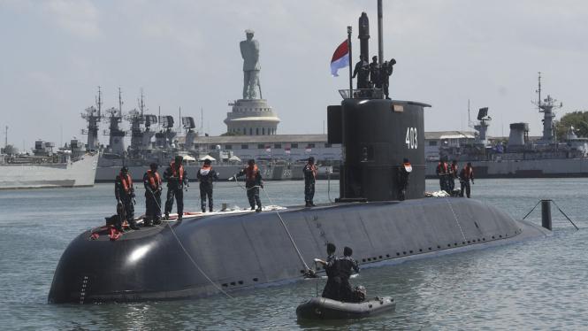 Kapal Selam KRI Nagapasa-403.