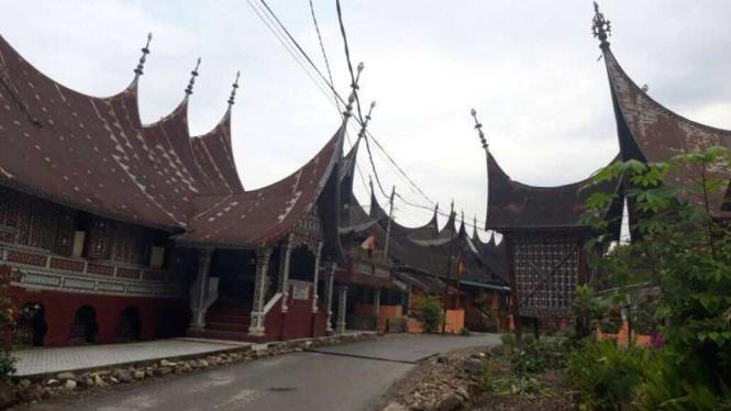 Pesona Seribu Rumah Gadang Di Solok Selatan Viva