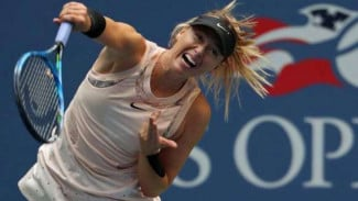 Maria Sharapova di US Open 2017