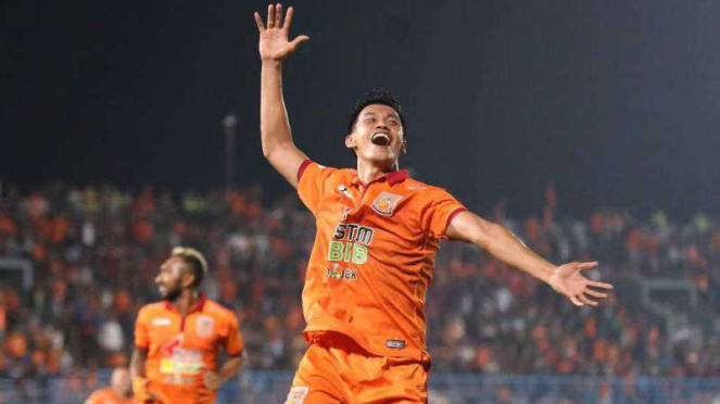 Striker Pusamania Borneo FC, Lerby Eliandry
