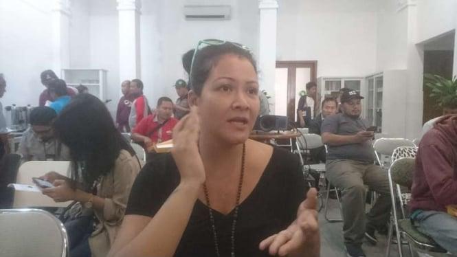 Artis dan pegiat HAM Melanie Subono