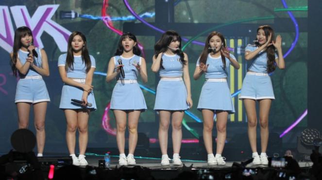 Girlband GFriend di Music Bank.