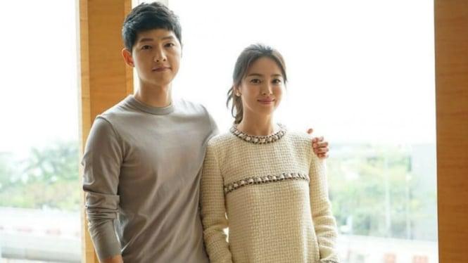 Pasangan Song Jong ki dan Song Hye kyo