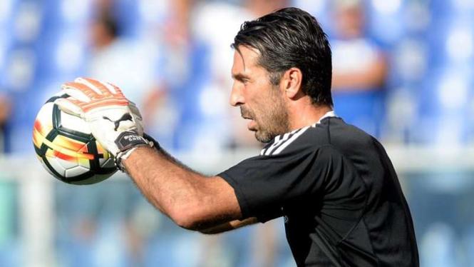 Penjaga gawang Timnas Italia dan Juventus, Gianluigi Buffon.