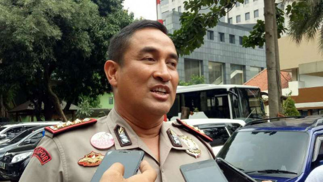 Kapolres Metro Jakarta Pusat Komisaris Besar Polisi Suyudi Ario Seto