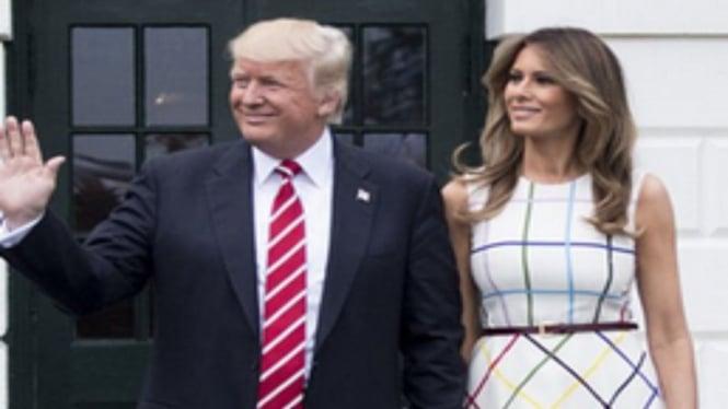 Donald Trump dan Melania