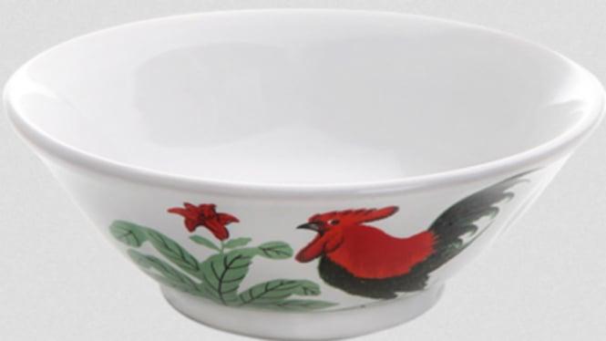 Ilustrasi mangkuk.