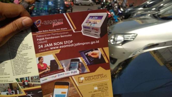 Layanan E-Smart Samsat Polda Jatim.