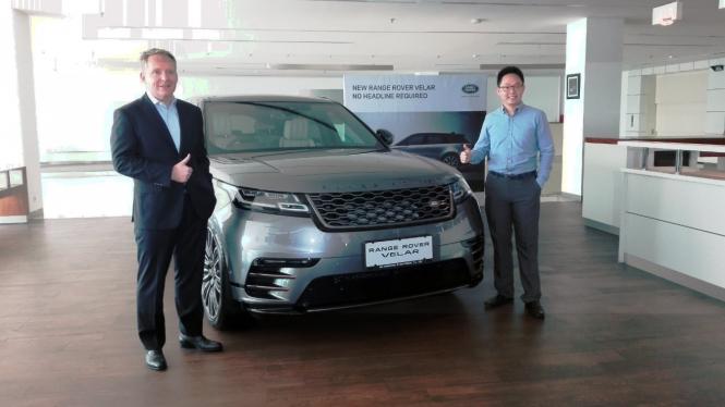 Peluncuran Range Rover Velar di Jakarta.