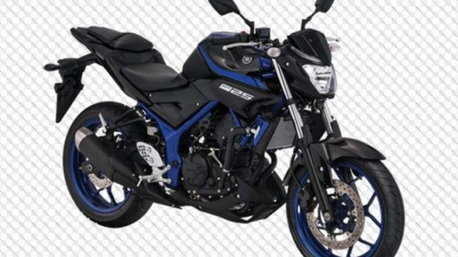 Yamaha MT-25 punya warna baru