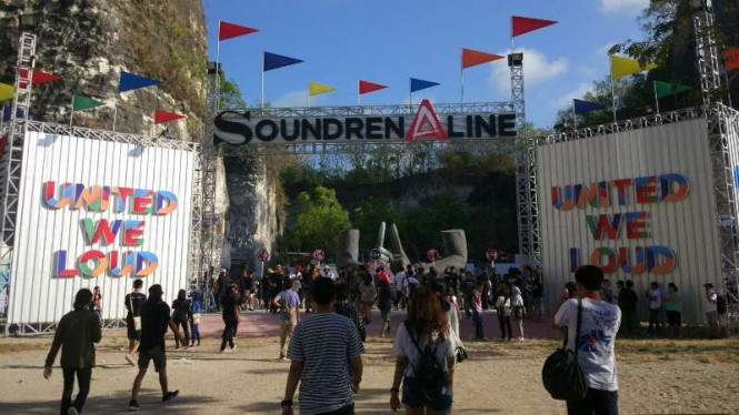 Soundrenaline 2017 di Garuda Wisnu Kencana, Denpasar, Bali