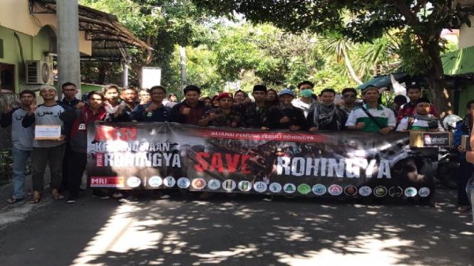 Aksi Kemanusiaan di Bali untuk Rohingya.