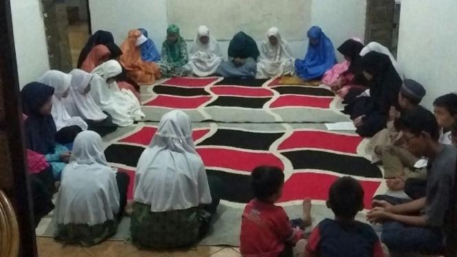 Doa anak yatim untuk Rohingya.