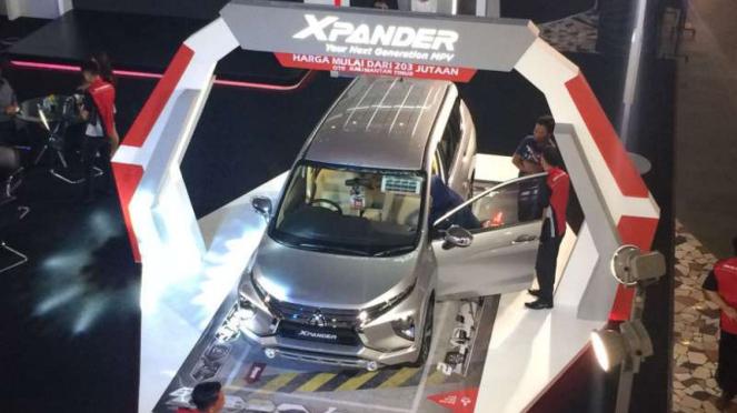 Peluncuran Mitsubishi Xpander