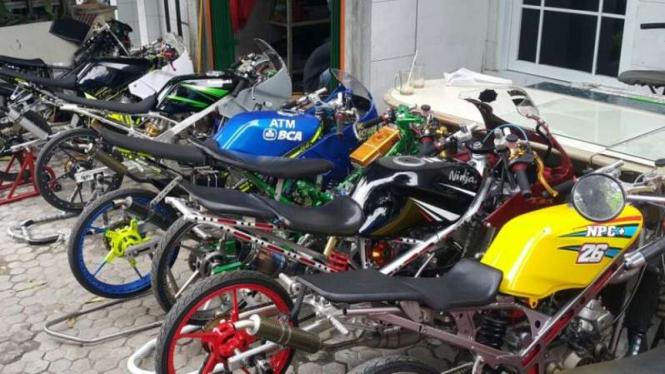 Biaya Sulap Motor Ninja Hingga Rx King Jadi Jagoan Balapan