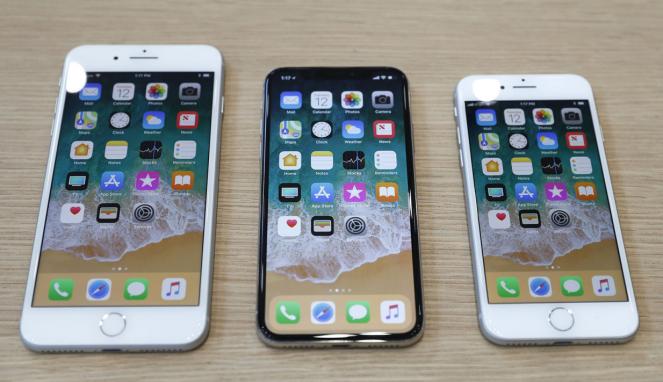 Peluncuran iPhone 8 di AS