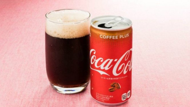 Coca-Cola rasa kopi.