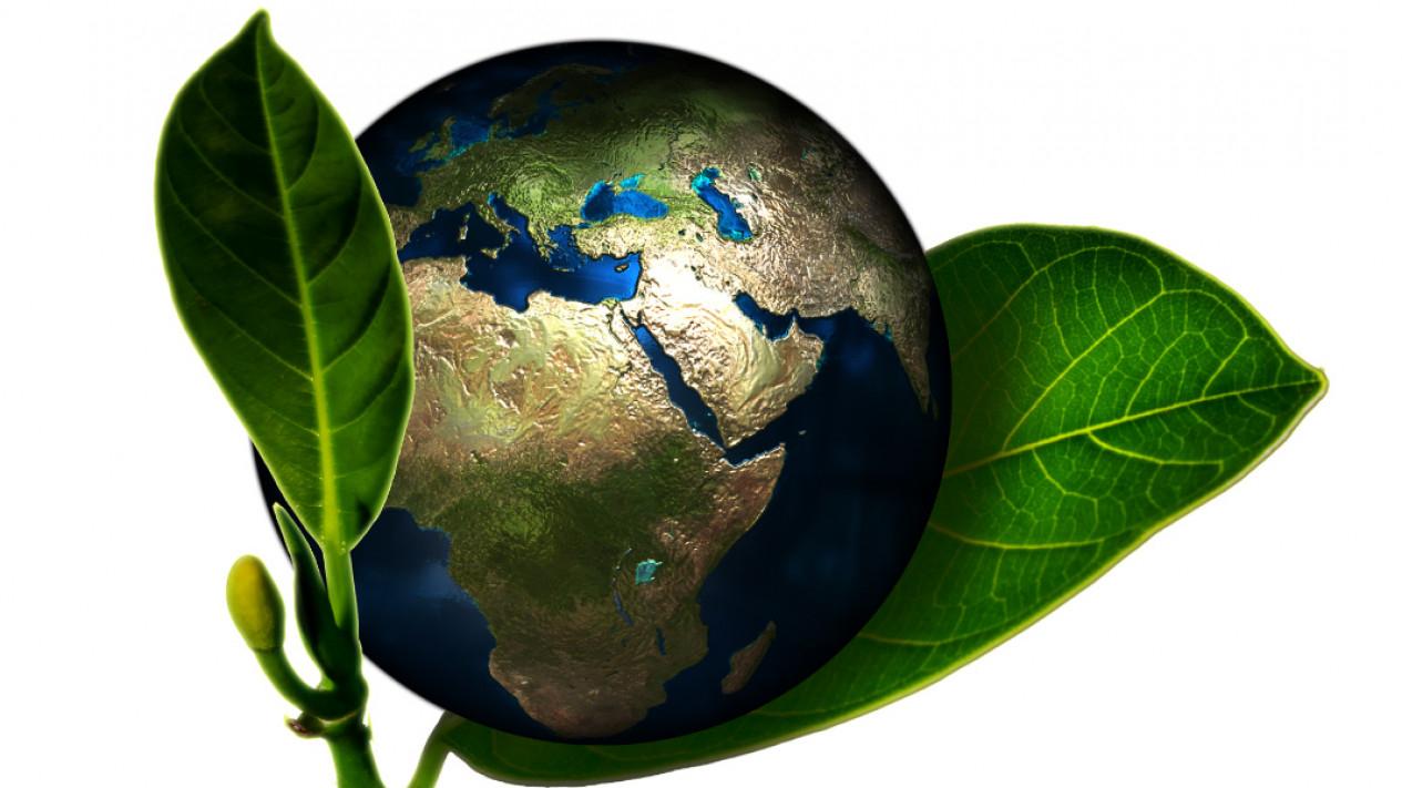 Ilustrasi ramah lingkungan.