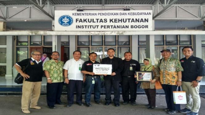 Alumni Fakultas Kehutanan IPB.