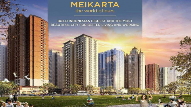 Ilustrasi Kawasan di Meikarta /Istimewa
