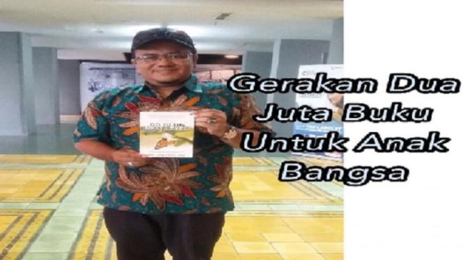 Gerakan Dua Juta Buku untuk Anak Bangsa di Jambi.