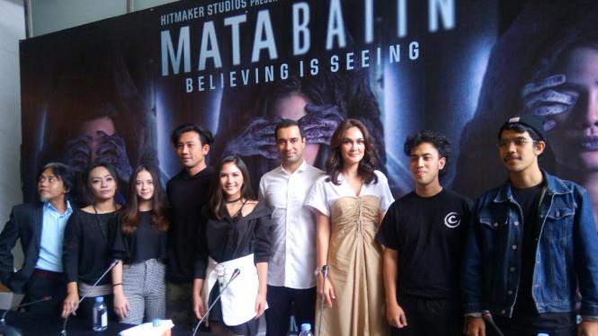 Konferensi Pers Film Mata Batin
